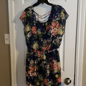 City Triangles Dresses - Stunning Floral Sheer Dress